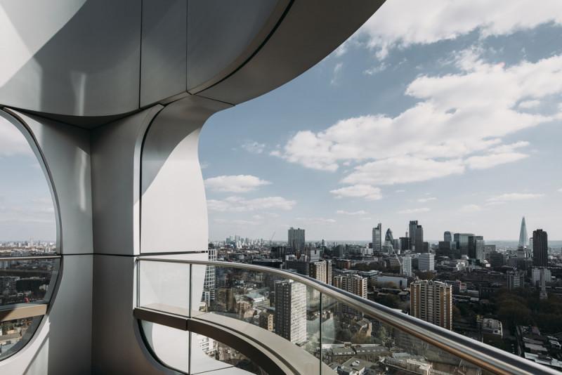 伦敦「空中社区」啟动!摩天公寓大楼Canaletto