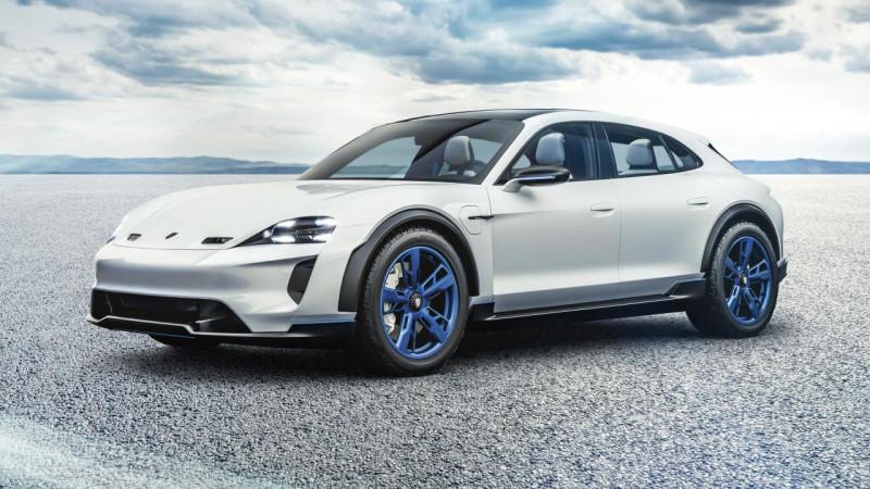 电动跨界猎跑概念车 Porsche Mission E Cross Turismo蓄势待发