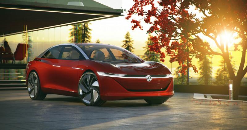 Volkswagen I.D. VIZZION 全球首发Level 5自驾概念车