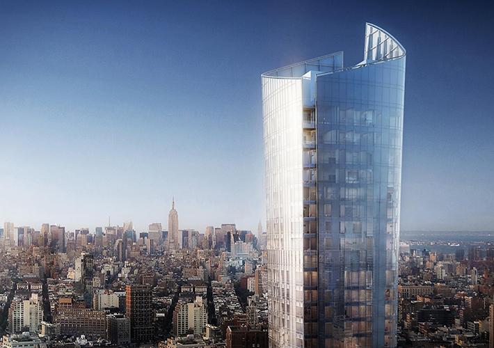 曼哈顿天际线的迷人水晶瓶 111 Murray