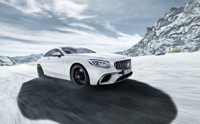 Mercedes-AMG S 63 4MATIC+ Coupé尊荣驰劲