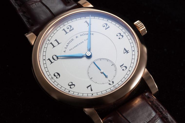 戴这只一看就是内行人 朗格1815腕表