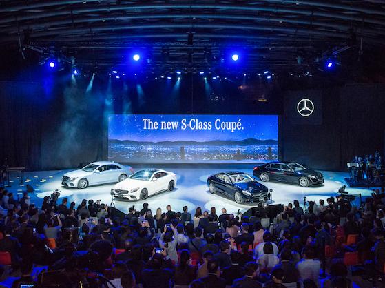 气势屡创颠峰  Mercedes-Benz S-Class Coupé