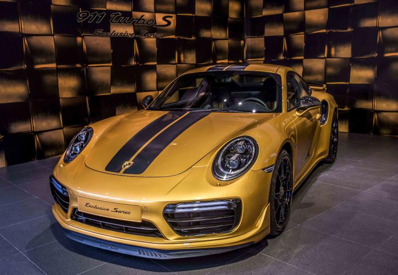 黄金大亨Porsche 911 Turbo S Exclusive   全球限量500辆