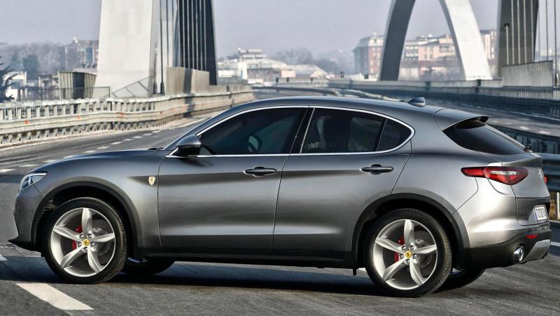 Ferrari法拉利首款SUV 预计2019~2020年推出