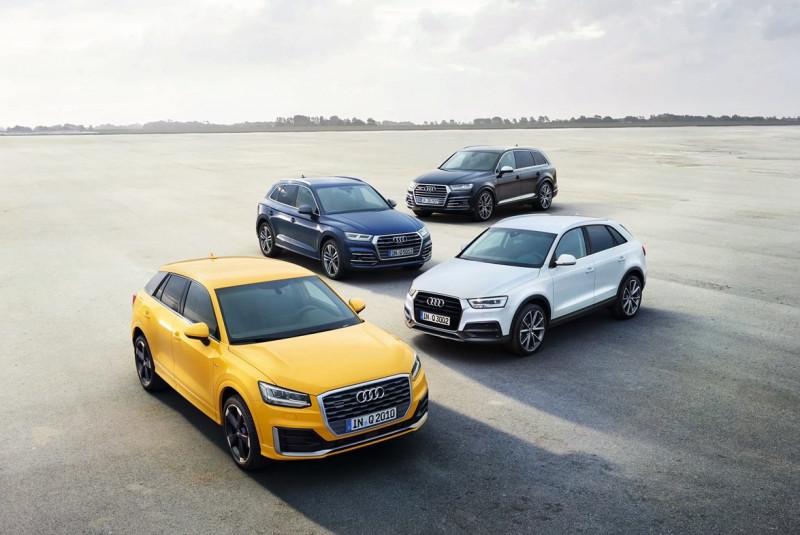 Audi Q Family     奥迪为四环品牌Q系列家族加温
