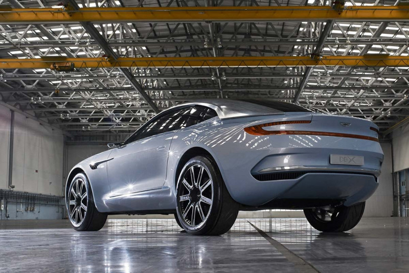 Aston Martin加入SUV战局 预计2019年上阵