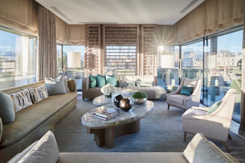 伦敦柏凯丽酒店呈现André Fu手笔  Pavilion套房坐拥伦敦270度景观