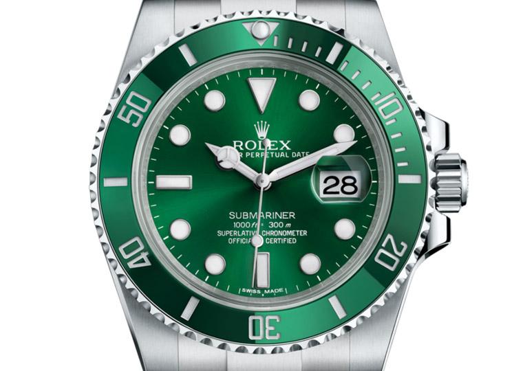 绿色是劳力士的顏色