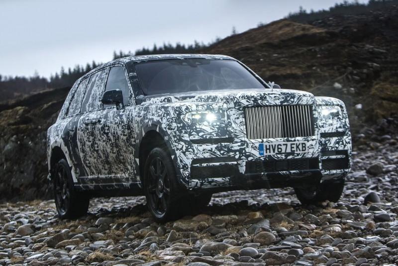 Rolls-Royce Cullinan全地形車5月全球首發 正式亮相前進行公開終極考驗
