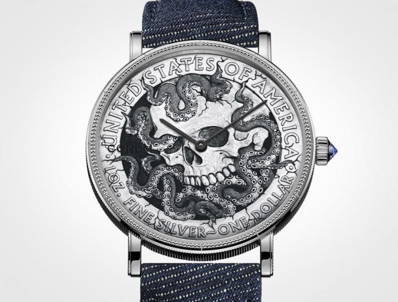 是表也是艺术创作 CORUM流浪币腕表