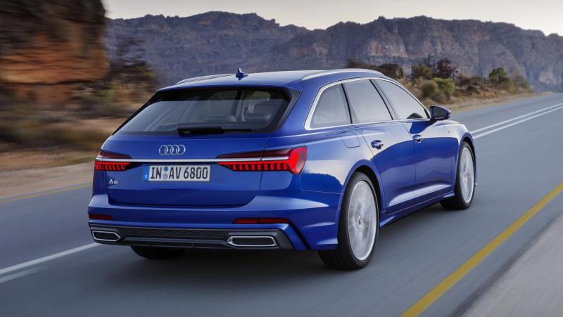 Audi A6 Avant突袭上阵