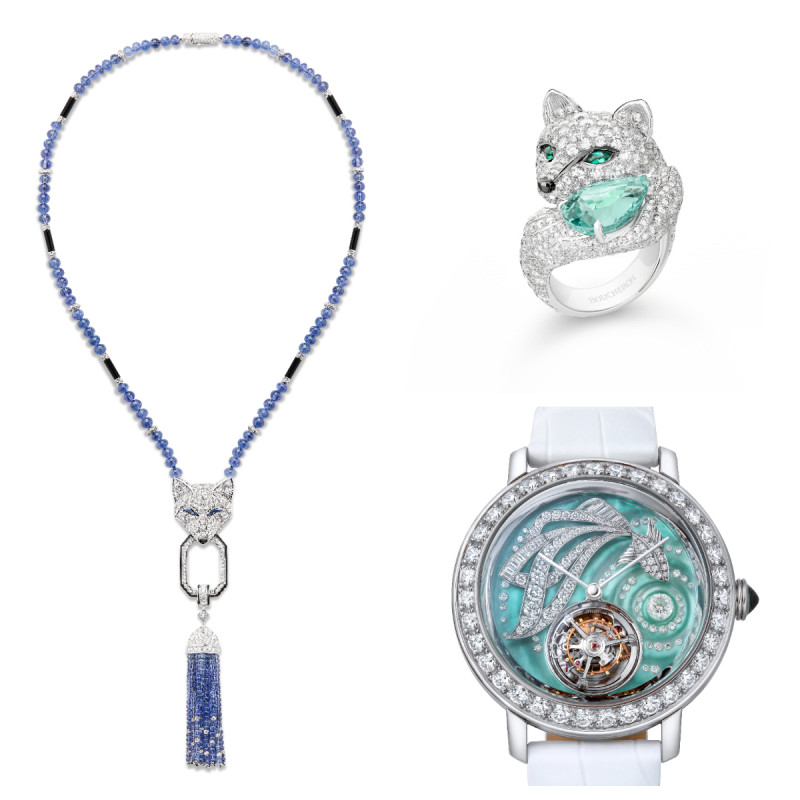 BOUCHERON 2018年珠宝与腕表新作  汲取大自然的力量