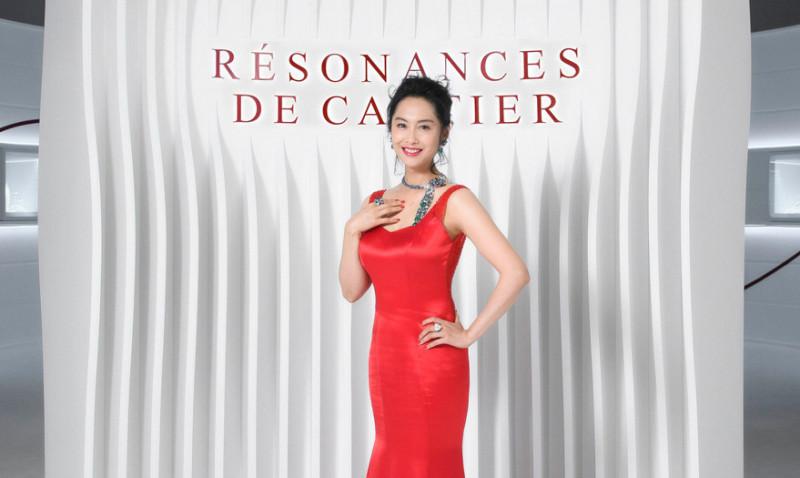 卡地亞頂級珠寶展22件全新珍品首度曝光 巨星朱茵現身揭幕