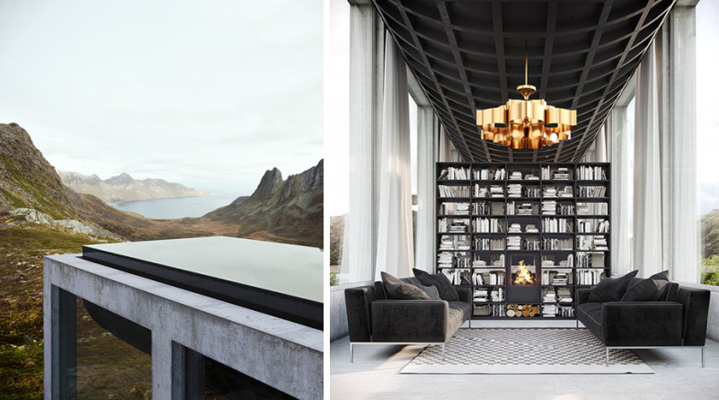 佇立在挪威「仙境」的山海美宅 Infinity House