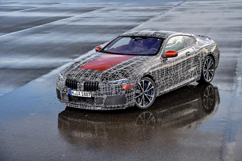 BMW 8 Series偽装曝光 传利曼耐力赛上发表