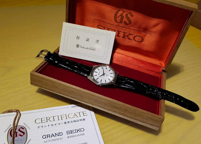 专家聊表:日本职人顶级制表精神——GRAND SEIKO 4520 GS腕表