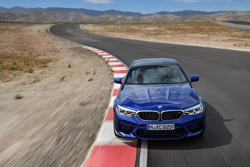 BMW M5夺2018 World Performance Car世界性能车大奖