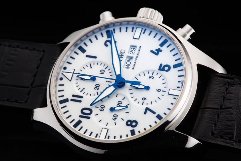 視覺小清新 IWC飛行員計時碼錶150週年特別版