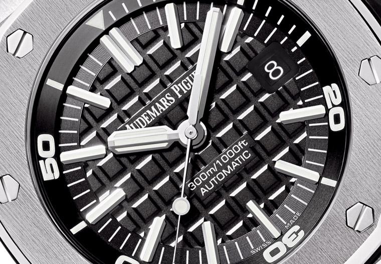 務實純粹運動派 愛彼皇家橡樹離岸型潛水錶