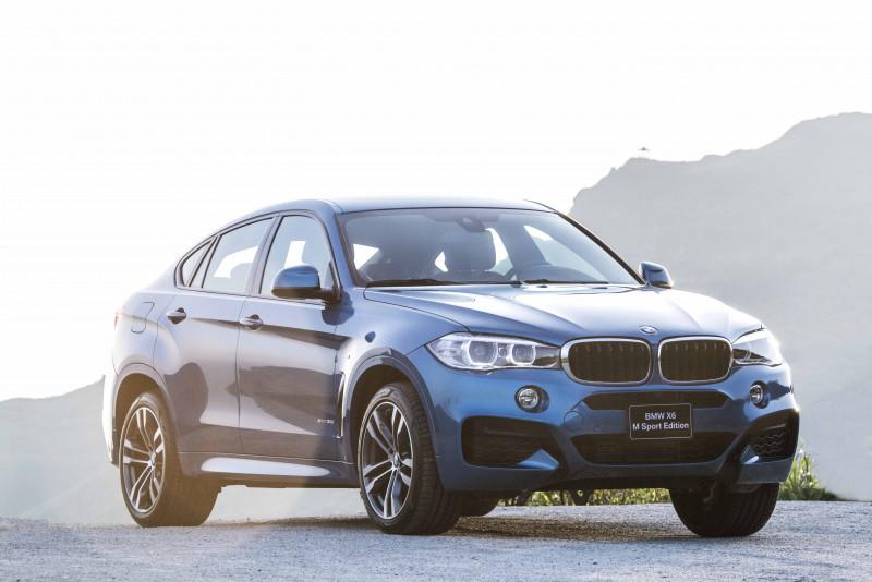 標配M款空力套件 BMW X6 M Sport Edition來台上市