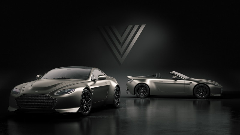 谢幕收藏! Aston Martin V12 Vantage V600经典重现14辆