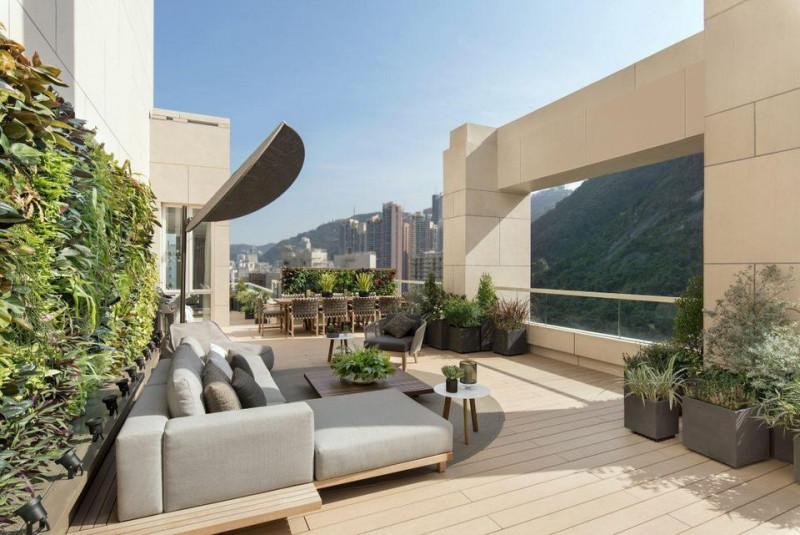 難以想像的香港半山區豪宅!敦皓大樓頂層公寓