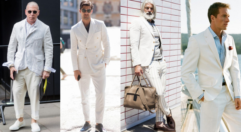 4個關於夏天的白色穿搭提案