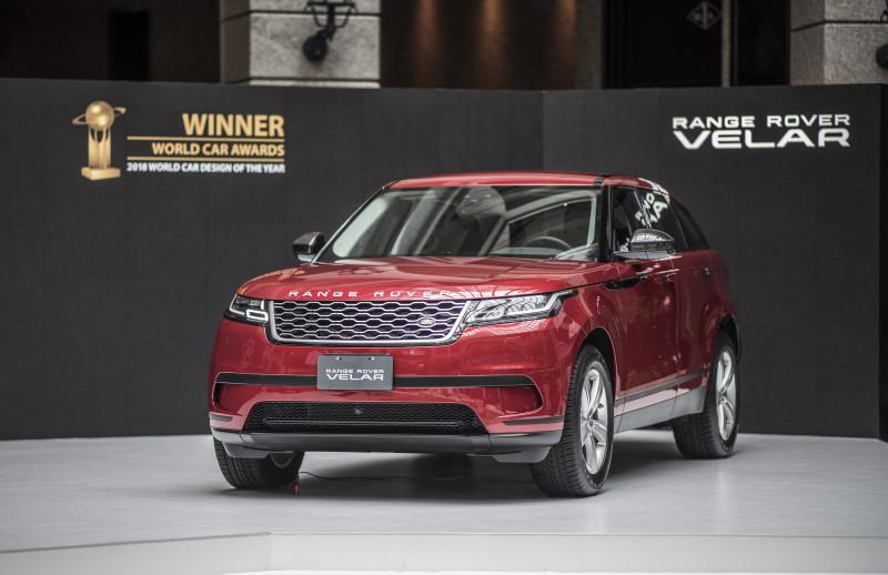 Land Rover強勁美型休旅 Range Rover Velar抵台309萬起接單