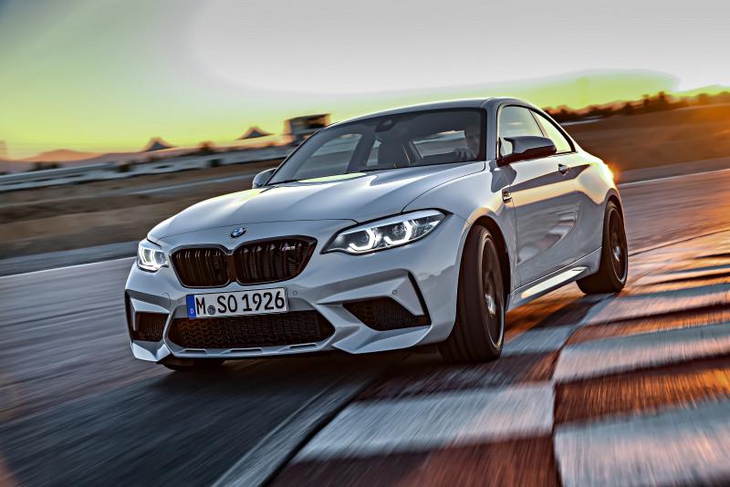 动力剽悍升级405匹马力 BMW M2 Competition预售价388万元