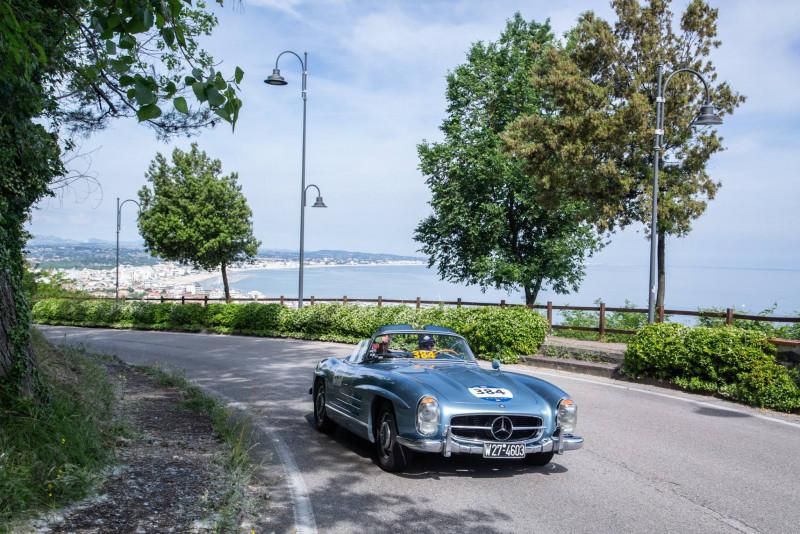 Mille Miglia义大利千里浪漫赛 仅限1927~1957年古董车较劲