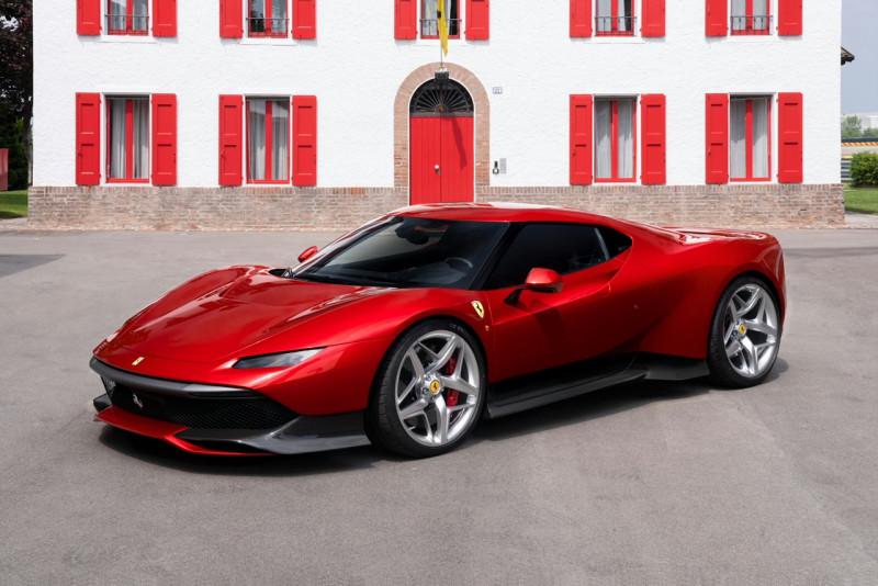 法拉利One-Off客制 地球唯一新作Ferrari SP38