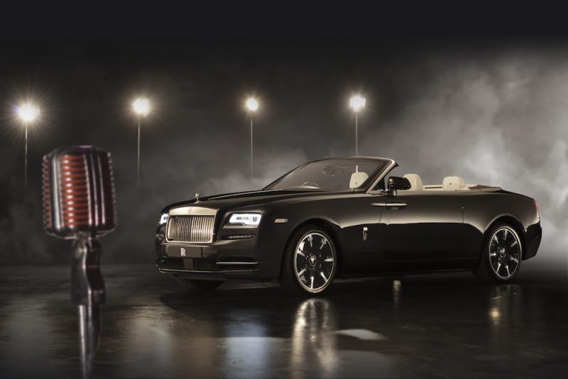 Rolls-Royce的移動音樂廳 勞斯萊斯打造Dawn Inspired by Music車款