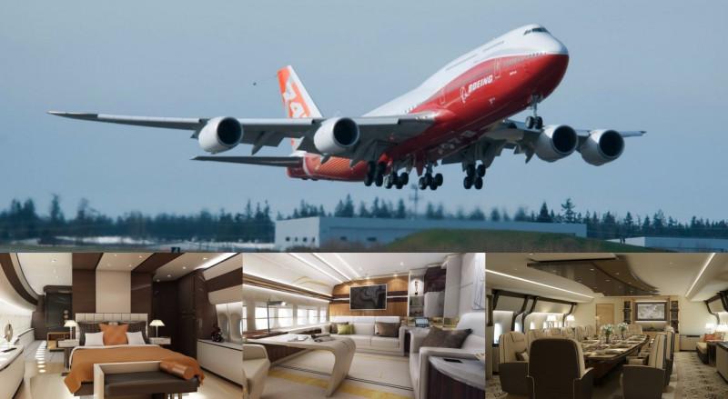 根本是空中豪宅! 5架世界最豪華私人飛機