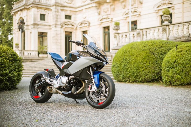 小侧箱变大后座 BMW Motorrad Concept 9cento概念车