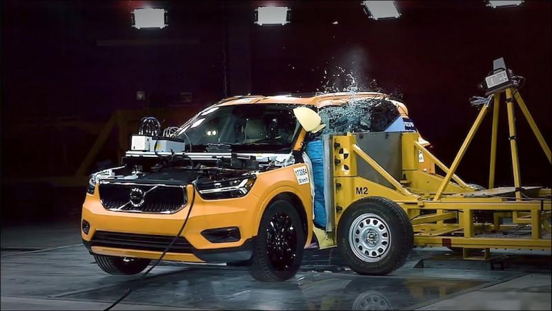 瑞典行動堡壘 Volvo把潰縮區做在別人車上