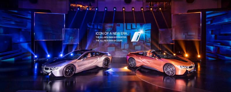 BMW i8雙車型上市  i8 Roadster開賣1068萬起