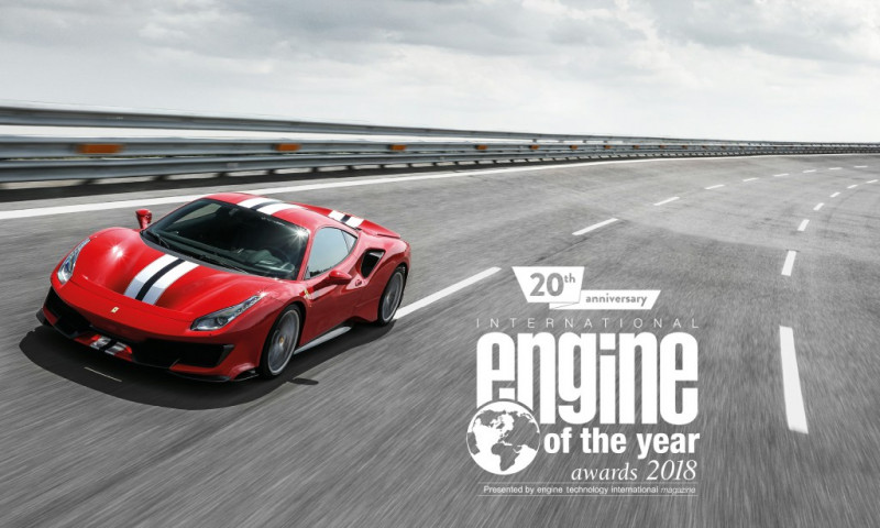 法拉利心臟超强!Ferrari V8涡轮增压引擎独揽六项国际引擎大奖