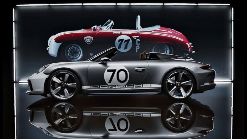 Porsche 911 Speedster Concept概念车 庆保时捷70大寿