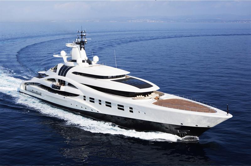 盤點俄羅斯富豪的休閒玩具 全世界最寬、最長和最佳設計的遊艇