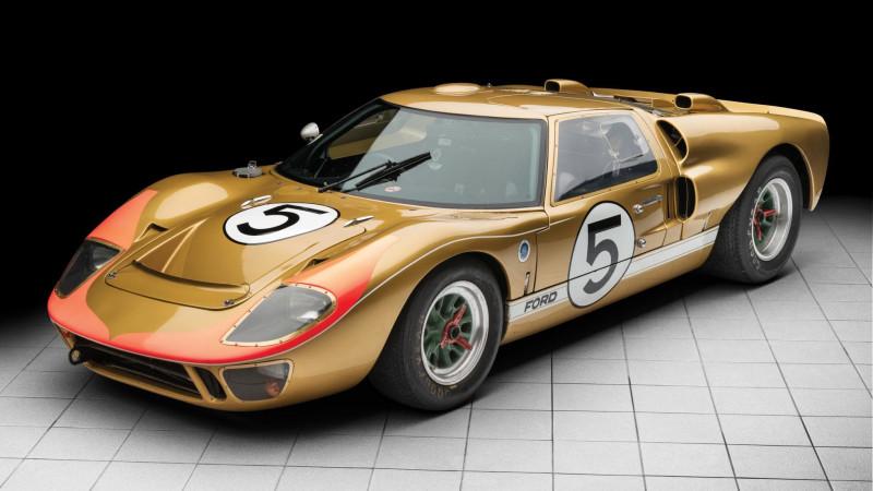 幹掉過法拉利的美式冠軍Ford GT40   預計拍賣價1200萬美元