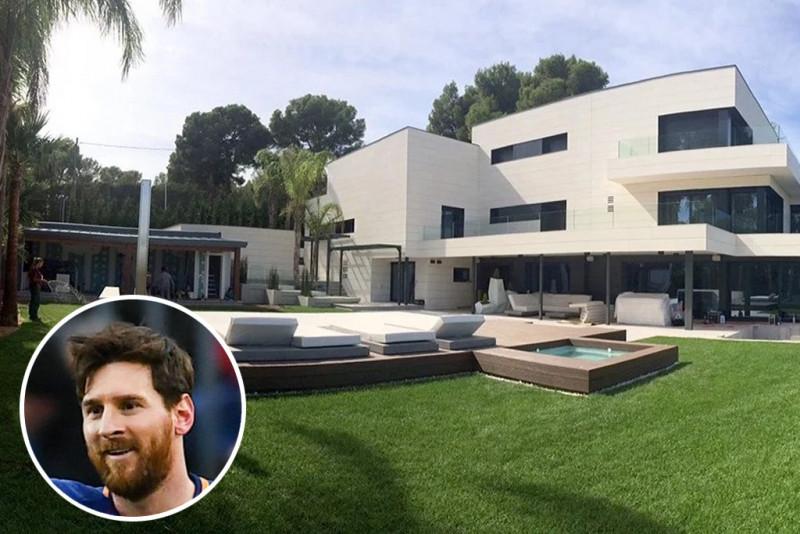 最高薪足球員 梅西的巴塞隆納豪宅