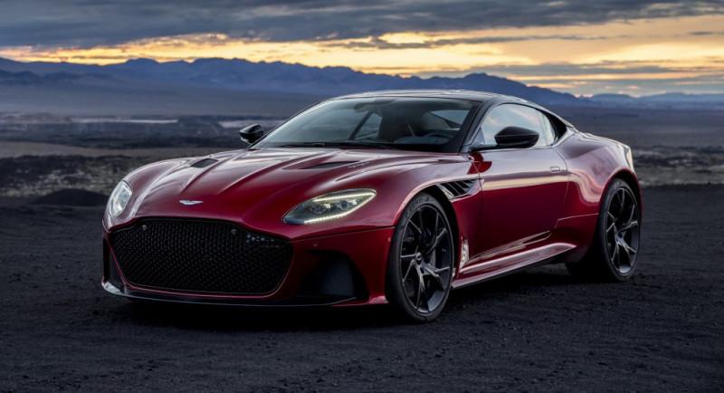 一下DBS一下Vanquish 你不知道的Aston Martin