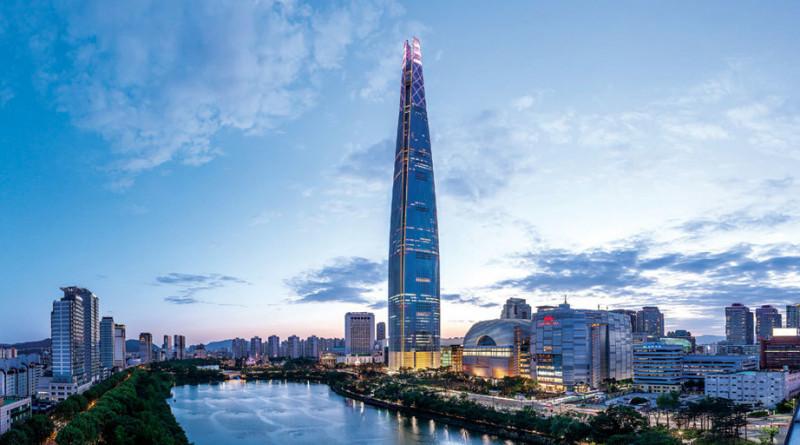 入駐南韓最高建築 首爾樂天世界大廈 Lotte World Tower