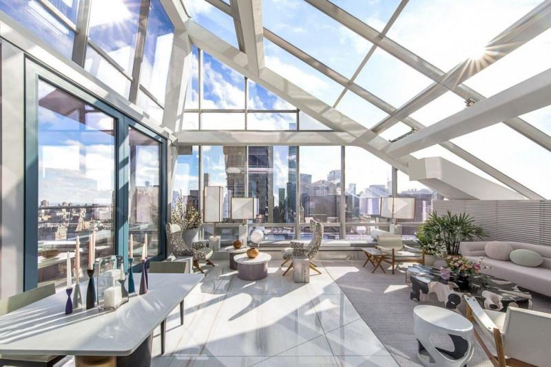 私人大型戶外空間 曼哈頓地標大樓One57豪華複式公寓