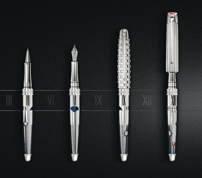 換個筆蓋就像是另一支筆! CARAN D'ACHE 1010時間守護者限定版