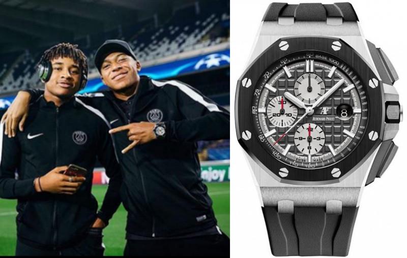 看世足賞錶:下一個球王是他? 法國隊新星姆巴佩的錶也很兇!