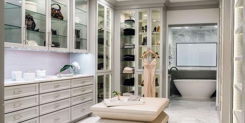 豪宅配备的步入式衣柜,到底是什麼?有什麼优点?