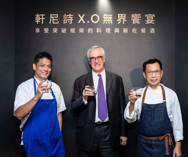 軒尼詩攜手5餐廳、6主廚 打造X.O專屬無界饗宴
