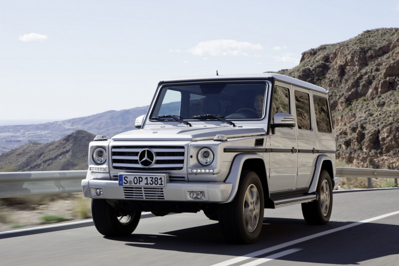 影响Mercedes-Benz SUV车系命名 宾士之母G-Class当之无愧
